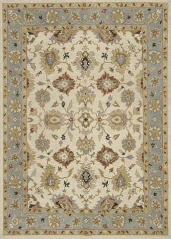 "Loloi Rugs - Laurent - 12' X 17'-6"" - Beige / Sky - Chachkies"
