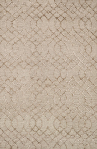 "Loloi Rugs - Panache - 2'-3"" X 7'-6"" - Taupe - Chachkies"