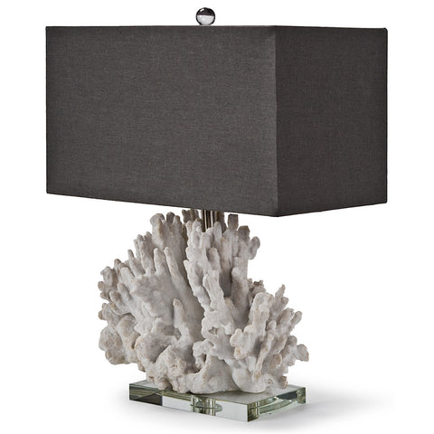Regina Andrew White Coral Lamp - 22-7429 - Chachkies
