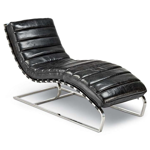 Regina Andrew Vintage Black Chase Lounge - 405-2071-BLK - Chachkies