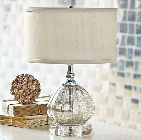 Regina Andrew Mercury Glass Clove Lamp - 405-638-AM - Chachkies