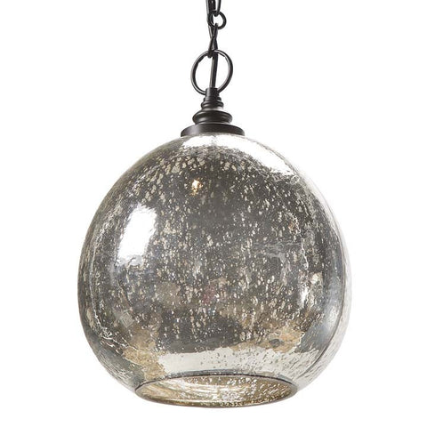Regina Andrew Antique Mercury Glass Float Pendent Chandelier - 44-8072 - Chachkies