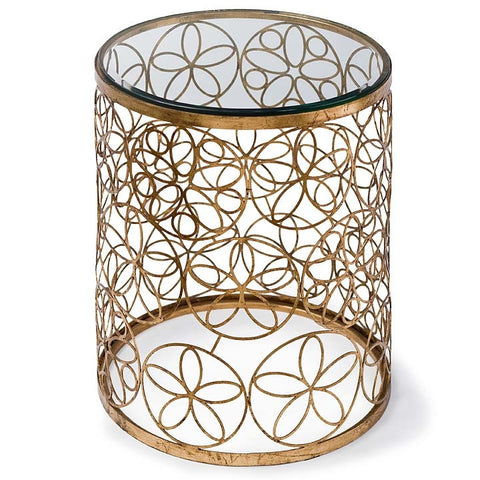 Regina Andrew Mod Floral Accent Table - 55-7368 - Chachkies