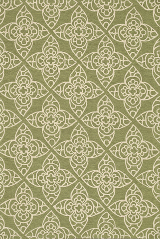 "Loloi Rugs - Summerton - 7'-6"" X 9'-6"" - Green / Ivory - Chachkies"