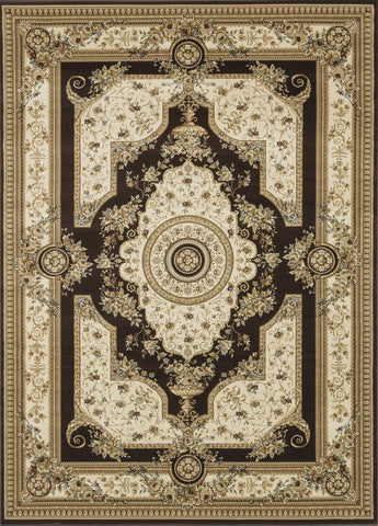 "Loloi Rugs - Welbourne - 11'-2"" X 14'-6"" - Coffee / Ivory - Chachkies"