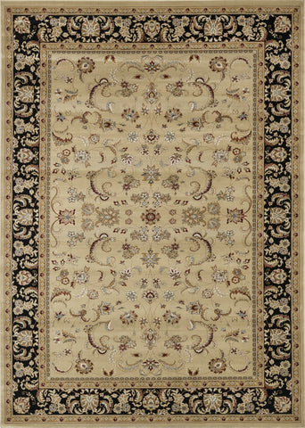 "Loloi Rugs - Welbourne - 11'-2"" X 14'-6"" - Beige / Black - Chachkies"