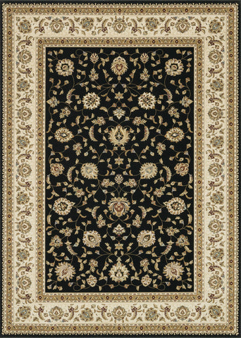 "Loloi Rugs - Welbourne - 9'-2"" X 12'-7"" - Black / Ivory - Chachkies"