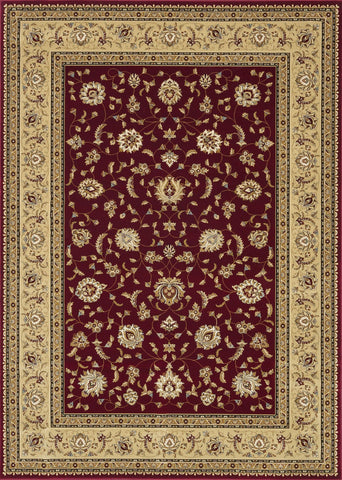 "Loloi Rugs - Welbourne - 5'-3"" X 7'-7"" - Red / Beige - Chachkies"