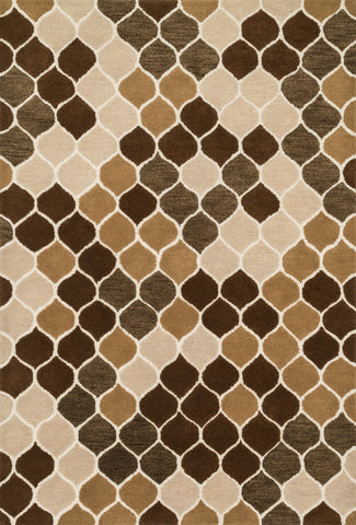 "Loloi Rugs - Weston - 5'-0"" X 7'-6"" - Neutral / Brown - Chachkies"