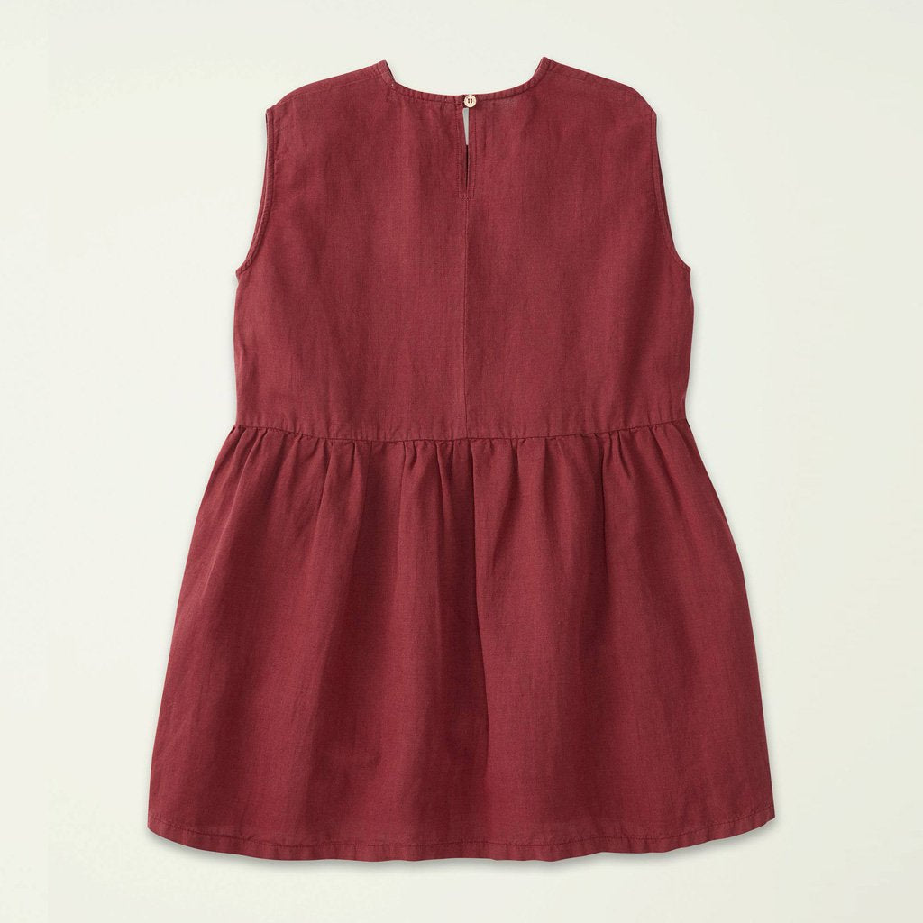 Dress Wide Rosewood