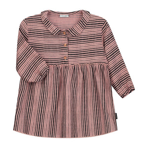 Dress Ava Linen Dusty Pink