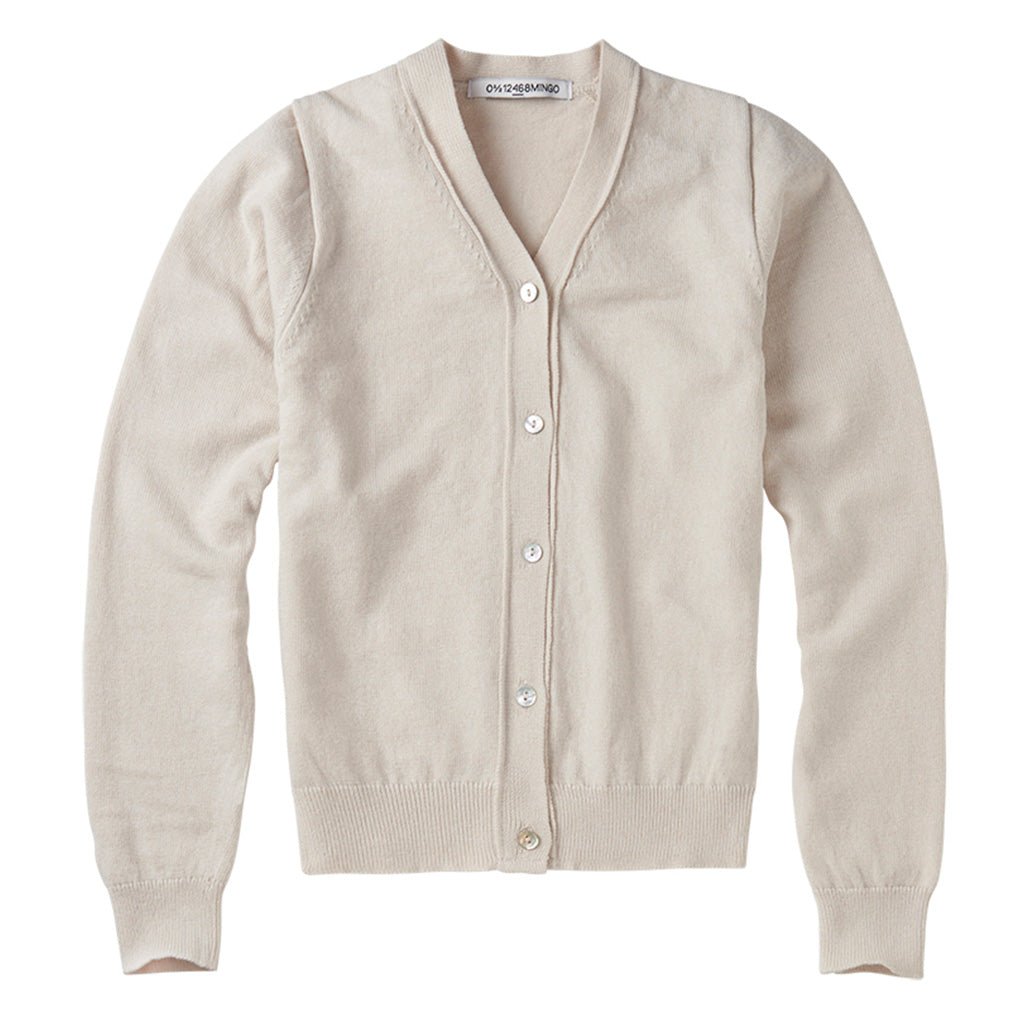 Cardigan Cashmere Oatmeal