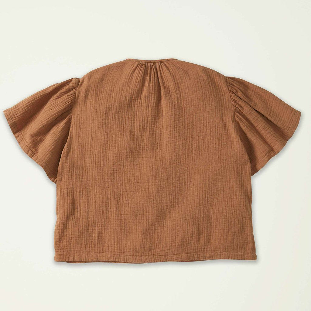 Gathered Top Sleeve