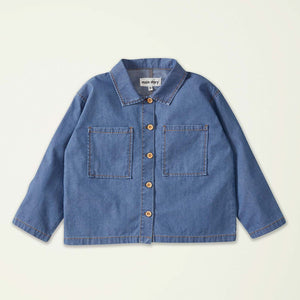 Overshirt Denim Light Blue