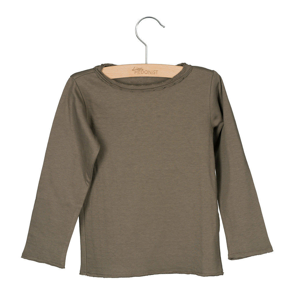 Long Sleeve Elana Warm Grey