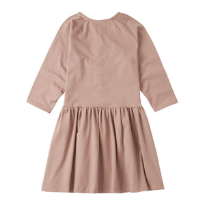 Button Dress Fawn