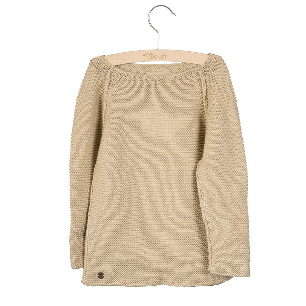 Sweater Knitted Boet Beige