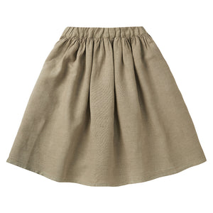 Skirt Linen Laurel Oak