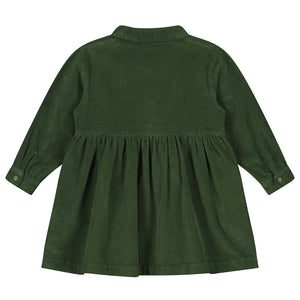 Dress Brooke Corduroy Olive Rose