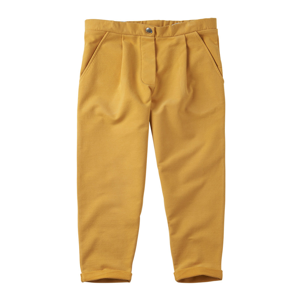 Chino Cropped Spruce Yellow