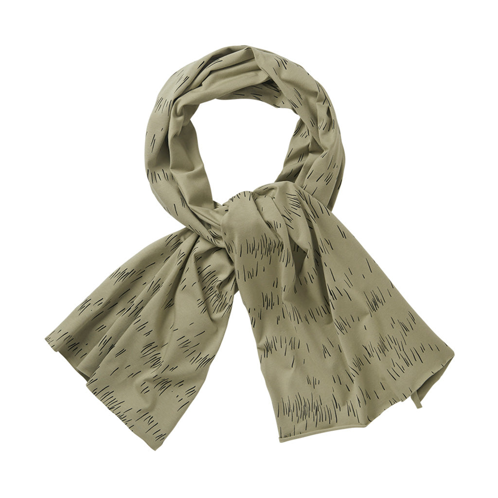 Scarf XL Grass Print Oak