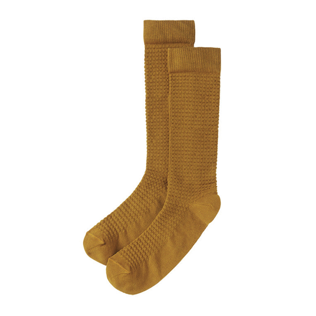 Knee Socks Spruce Yellow