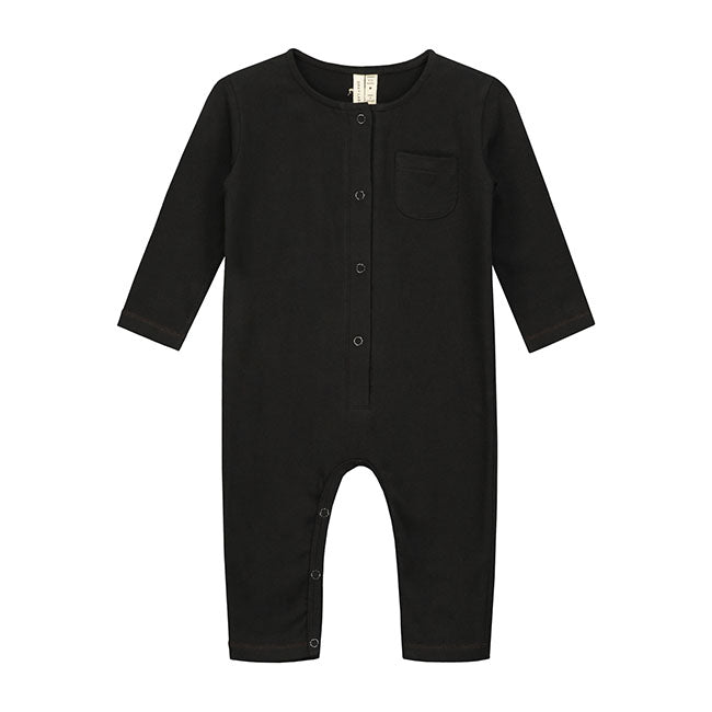 Playsuit Long Sleeve Baby Nearly Black