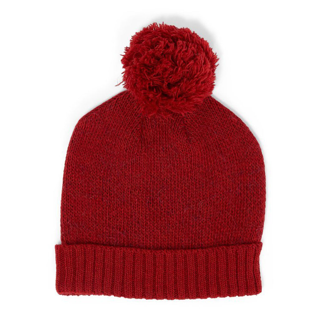 Beanie Hairy Daily Red