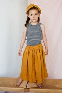 Skirt Linen Spruce Yellow
