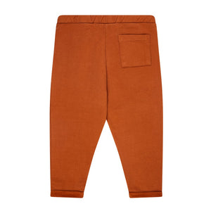 Chino Cropped Leather Brown