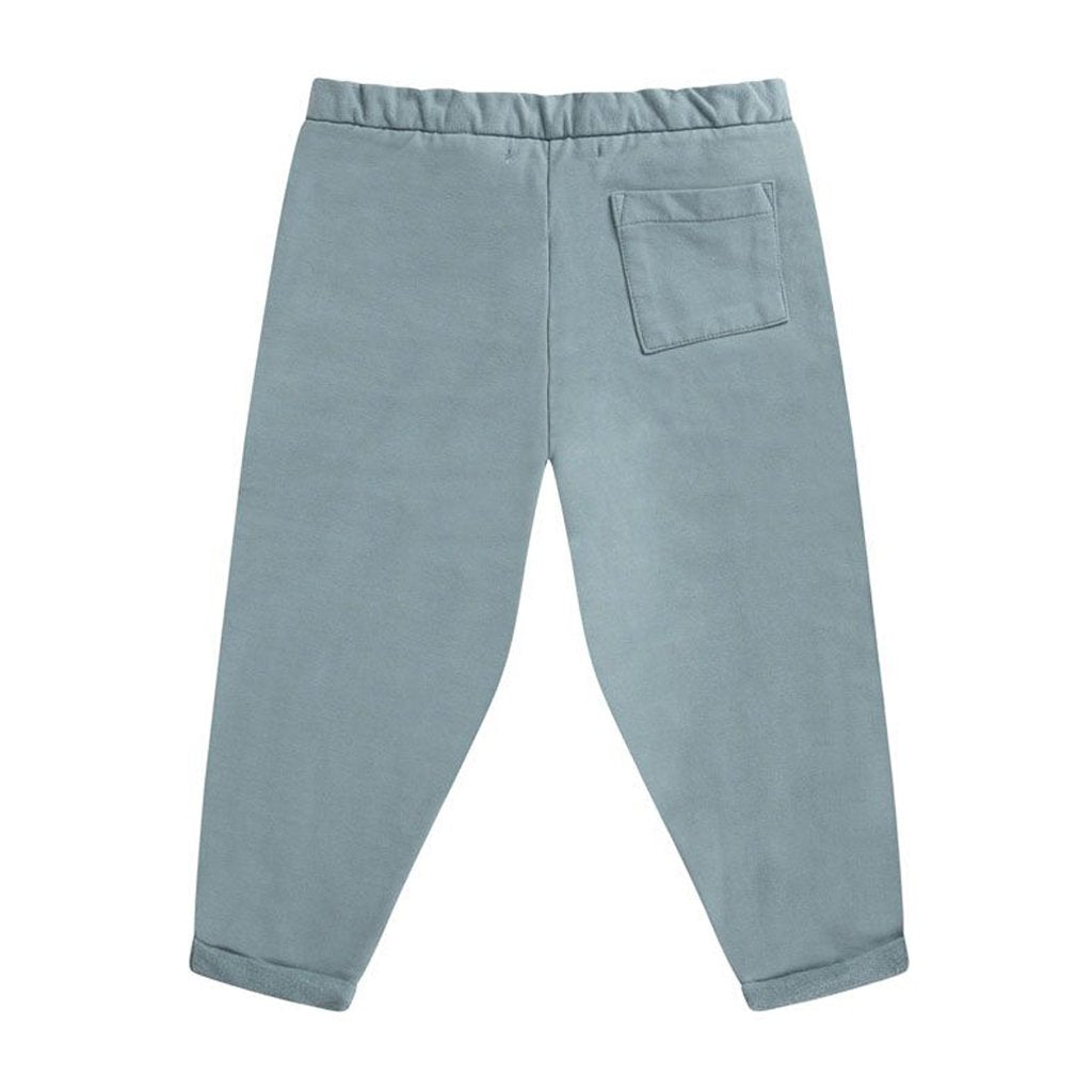 Chino Cropped Smoked Blue