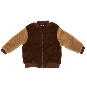 Jacket Billy Teddy Bomber Cone Brown
