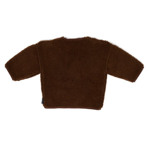 Sweater Teddy Oversized Walnut