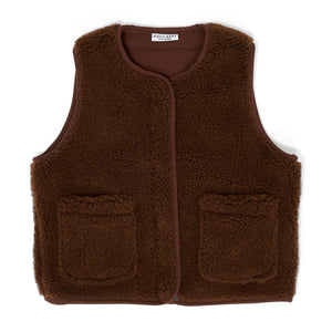 Vest Teddy Walnut