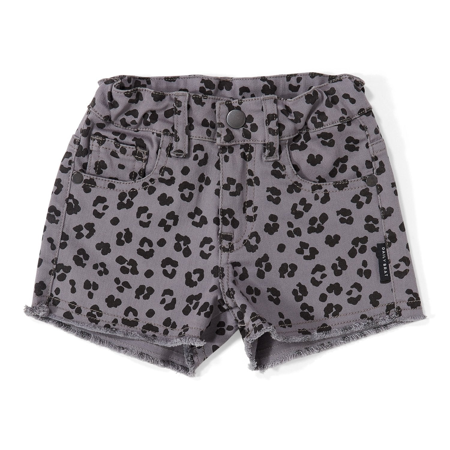 Shorts Riley Leopard Soft Dusk