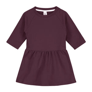 Dress Long Sleeve Plum