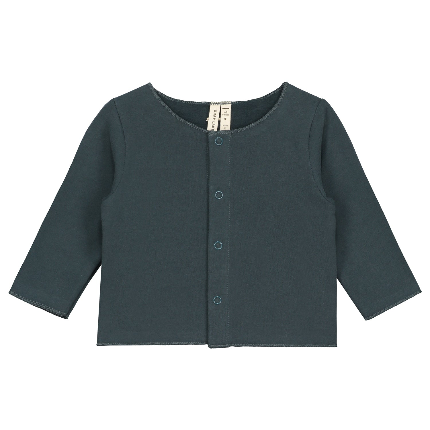 Cardigan Baby Blue Grey