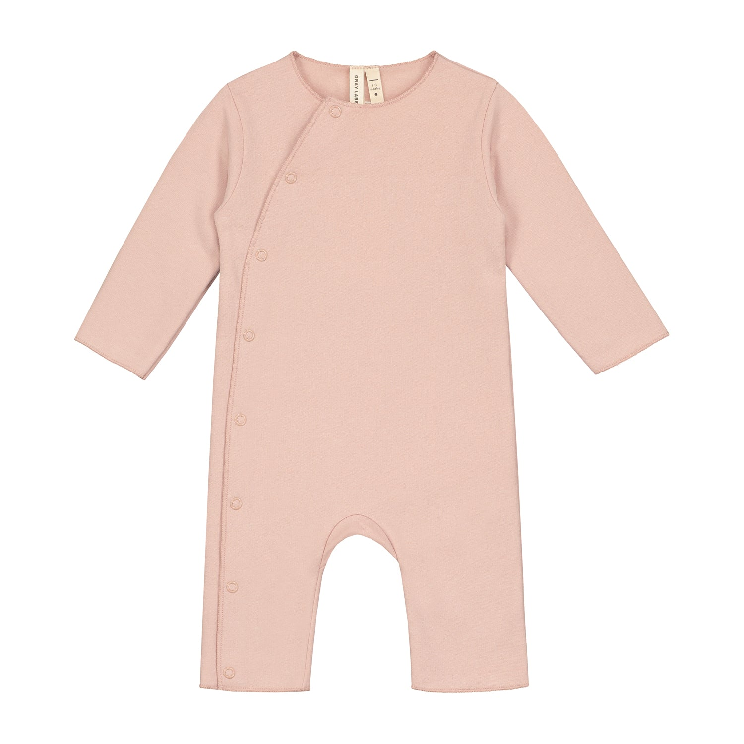 Suit Baby With Snaps Vintage Pink