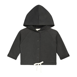 Hooded Cardigan Baby Nearly Black
