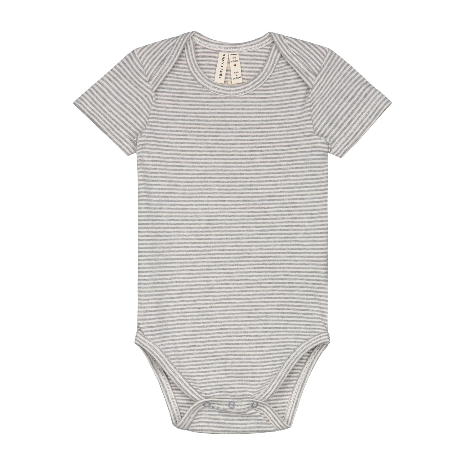 Onesie Baby Grey Melange Cream