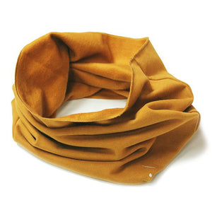Scarf Endless Mustard