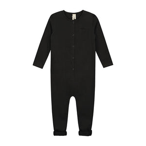 Playsuit Short Sleeve Nearly Black
