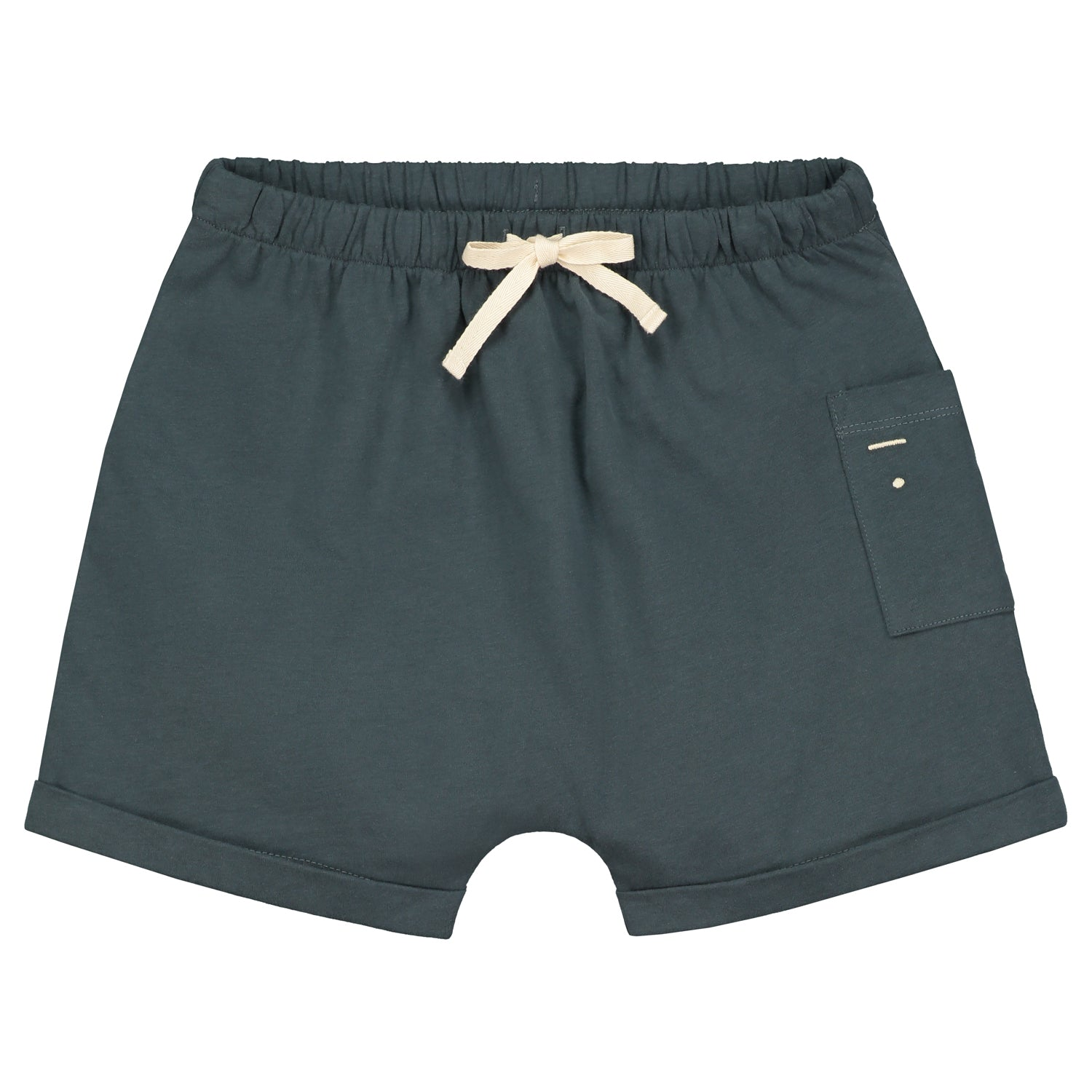 Short One Pocket Blue Grey