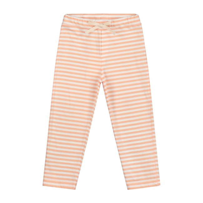 Pants Relaxed Pop White Striped
