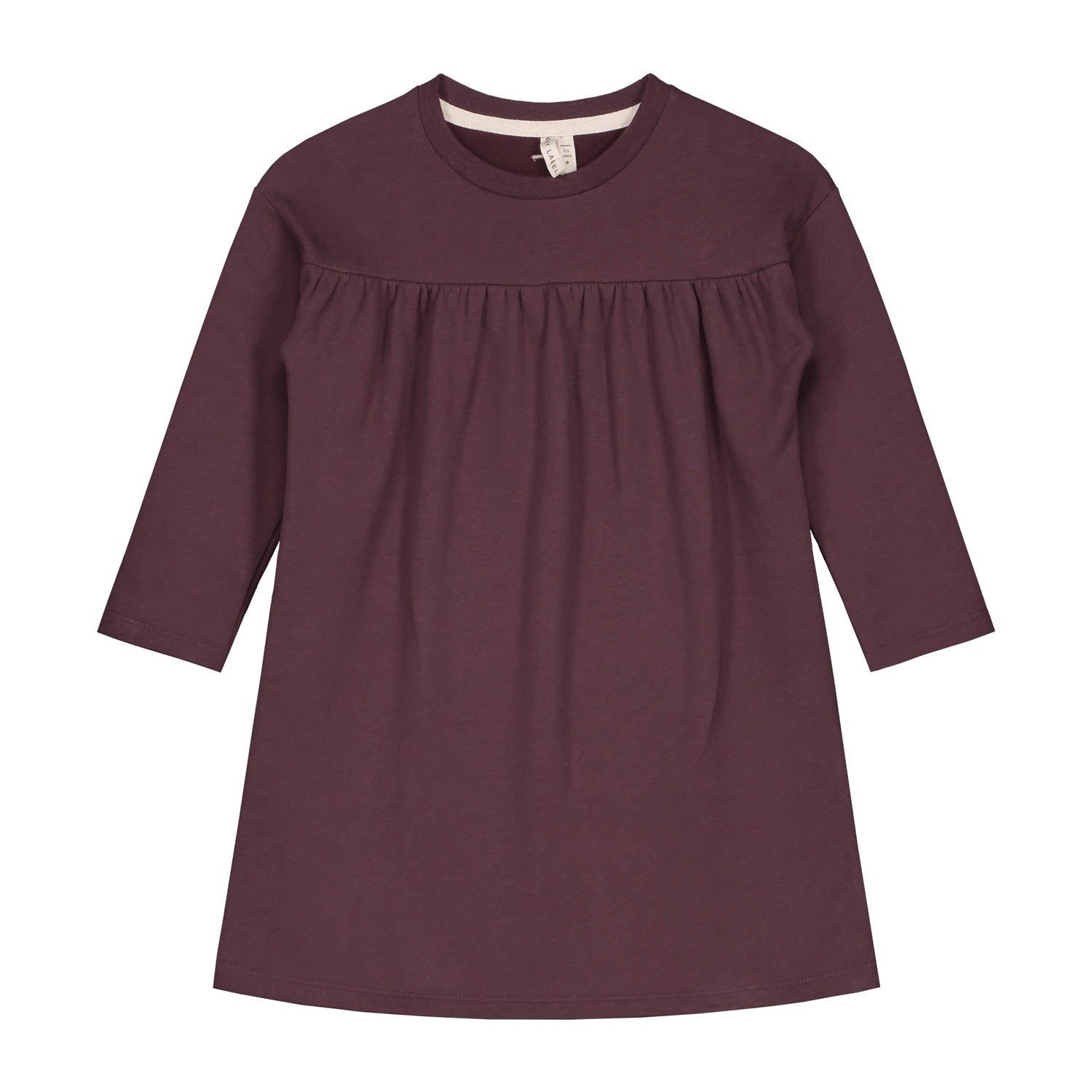 Dress Pleated Plum