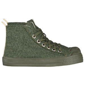 Shoes GL x Novesta - High Top Laces Moss