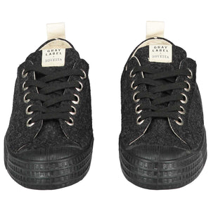 Shoes GL x Novesta - Low Top Laces Nearly Black