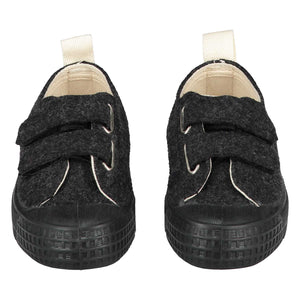 Shoes GL x Novesta - Low Top Velcro Nearly Black