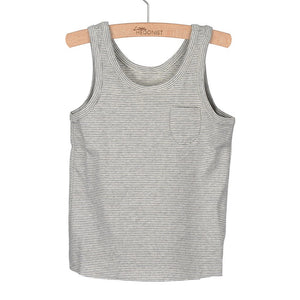 Tanktop Lily Grey Melee White Striped