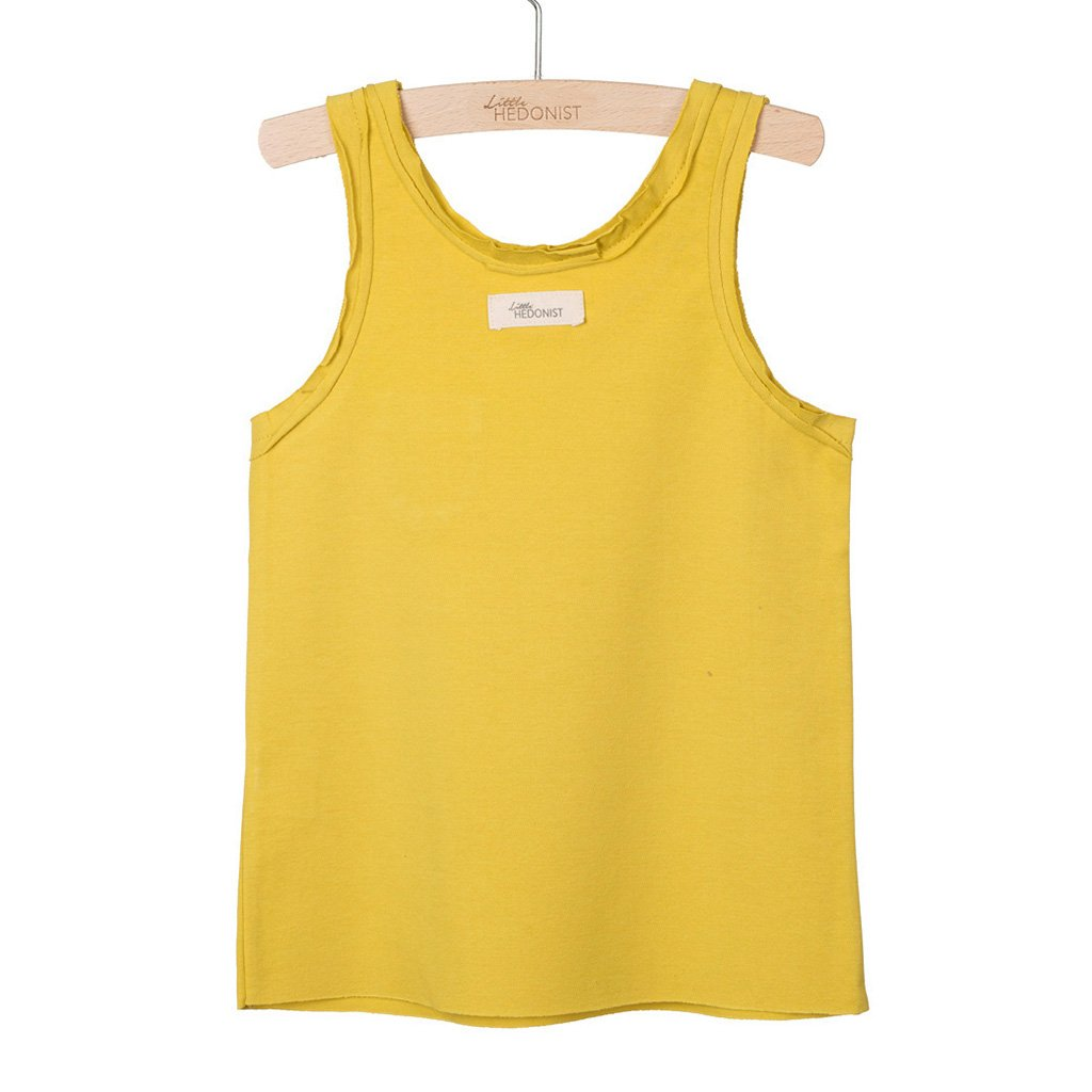 Tanktop Lily Oiled Yellow
